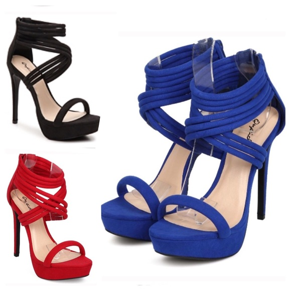 well known sells arriving Qupid Shoes | Strappy High Heel Platform Party Sandal Shoe | Poshmark